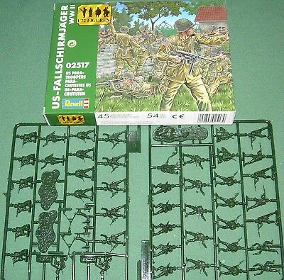 Revell U.S. Paratroopers 1/72 plastic kit WWII #02517