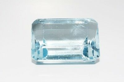 $850 42.75Ct Natural Emerald Cut Blue Topaz Loose Gemstone
