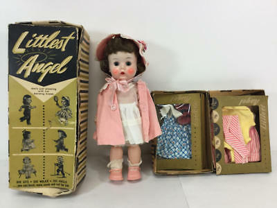 R&b Littlest Angel Doll With Box & Outfits Including Golf
