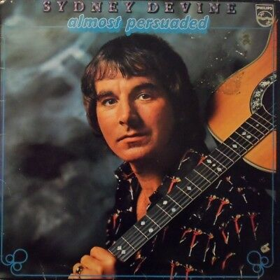 Sydney Devine Almost Persuaded Philips Vinyl LP