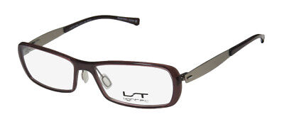 New Lightec 7033L Colorful Exclusive Cold Insert Eyeglass Frame/eyewear/glasses