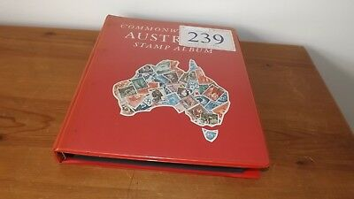 Australia Early To Mod. Stamps Collection In Album 5/- Sydney Harbour Bridge Etc