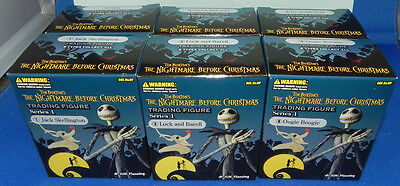 Nightmare Before Christmas Trading Figures Set of 6 Jun Planning Jack Sally