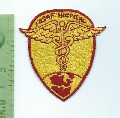 US Air Force USAF  I USAF Hospital  patch  Ace Novelty Tokyo Japan Label