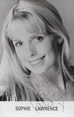 Sophie Lawrence as Diane Butcher in Eastenders Hand Signed Cast Photo