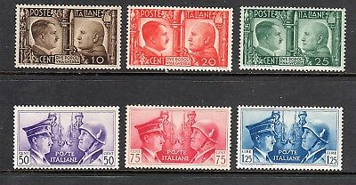 Italy Mnh Stamps #413-418 $80 Value