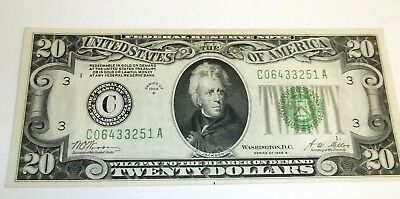 Beautiful $20 *Payable in GOLD* 1928-B Grades about XF-AU Clean  - -FREE SHIP !