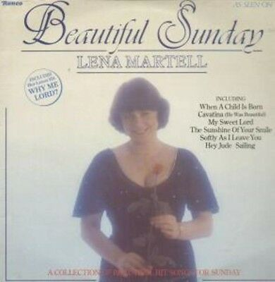 Lena Martell Beautiful Sunday Ronco Vinyl LP