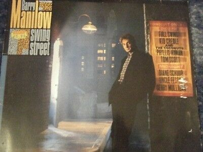 Barry Manilow Swing Street Arista Vinyl LP