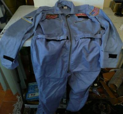 1980's AVIREX flight suit SPACE CAMP ALABAMA SPACE AND ROCKET CENTER size 40