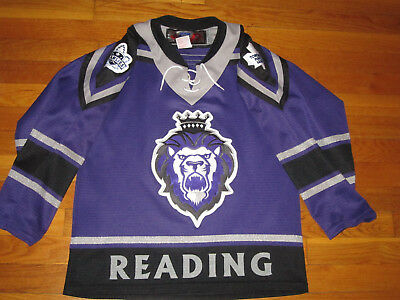 Reading Royals Long Sleeve Echl Hockey Jersey Boys Large/xl Excellent Condition