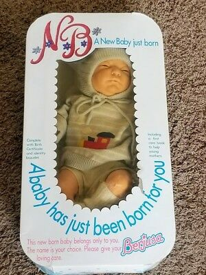 Berjusa Anatomically Correct Newborn Boy Baby Doll in Box