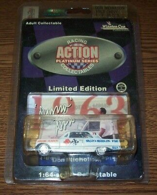Don Nicholson 1963 Chevy 1/64 Action Diecast 10,080 Made