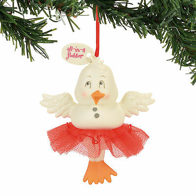 Snowpinions All in a Flutter Christmas Tree Ornament new holiday