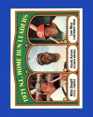 1972 Topps Set Break # 89 NL Home Run Leaders NM-MT OR BETTER M14325