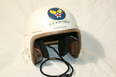 P-1A US Air Force  flight helmet original 1940's issue unmodified
