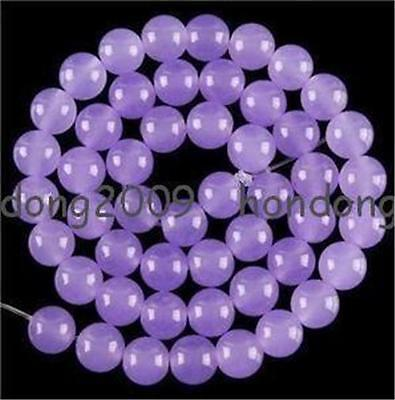 8mm  purple alexandrite Round Loose Beads 15""