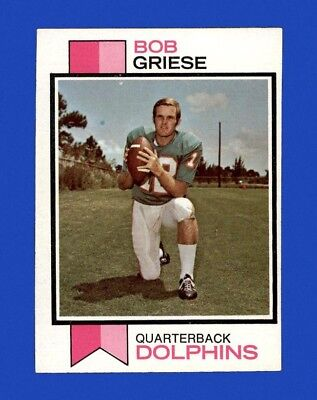 1973 Topps Set Break #295 Bob Griese EX-EXMINT M31262