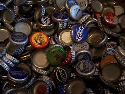 Craft Art lot 1500+ assorted used beer bottle caps over 7 lbs boxed