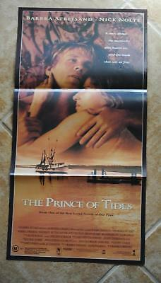 The Prince of Tides Daybill Movie Poster Barbra Streisand Nick Nolte Vintage