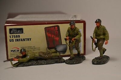 W Britains 17589 US Infantry with Box