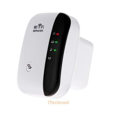 300Mbps 802.11 Wifi Repeater Wireless-N AP Range Signal Extender Booster #T1K