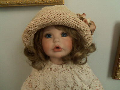 Artist Made  Bisque Antique Style Doll 1999