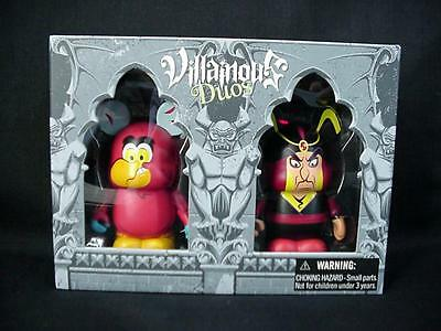 "Disney VINYLMATION 3"" Villainous Duos Jafar and Iago LE 1500 NEW"