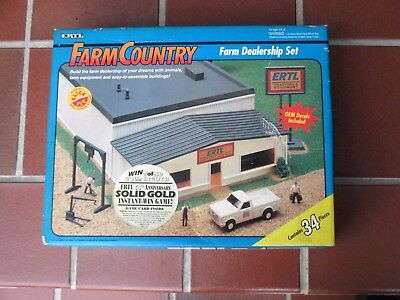 1993 Farm & Country Farm Dealership  Set By ERTL 1/64th Scale Factory Sealed