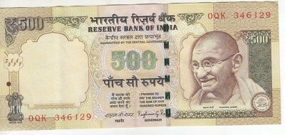 Old Issue 500 Old Bank Note In Excellent Condition...rare....