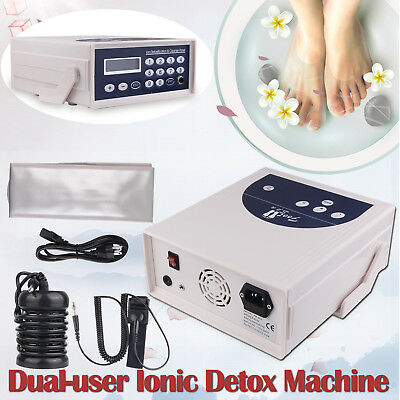 2017 Detox Machine Cell Ion Ionic Aqua Foot Bath Spa Chi Cleanse Fir Belt