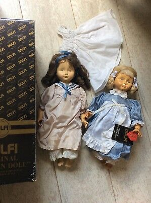 DOLFI Original Wooden Dolls - handcarved and hand painted in Italy