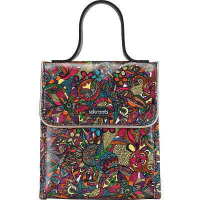 Sakroots Artist Circle Flap Lunch Box 2 Colors Travel Cooler NEW