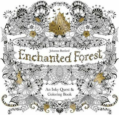 Enchanted Forest An Inky Quest & Coloring Book by Johanna Basford