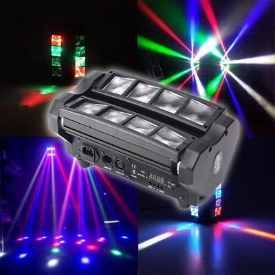 4 in 1 90W RGBW LED Spider Beam Moving Head DMX512 Stage Lighting DJ Party Disco