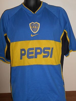 Boca Juniors Home Shirt (2002) large men's #710