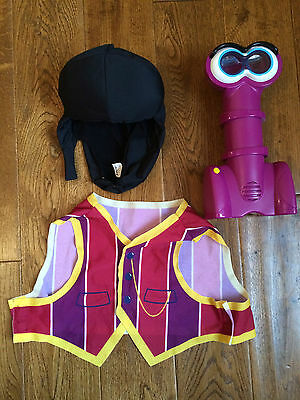 Guc Lazytown Robbie Rotten Action Set - Talking Periscope, Wig & Waistcoat