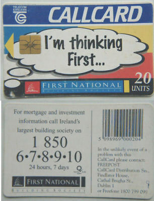 Ireland Phone Card - First National Building Society