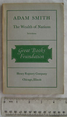 1948 Adam Smith, The Wealth of Nations Book I, Chapters 1-9