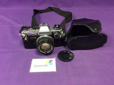 Olympus Om10 Camera With Lens - Untested