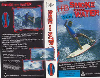 Surfing Smoke On Water  Vhs Video Pal A Rare Find