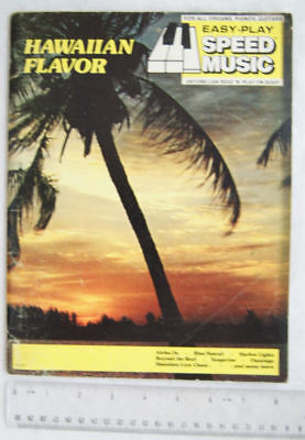 1974 Hawaiian Flavor.  Easy-Play Speed Music for all Organs, Pianos, Guitars