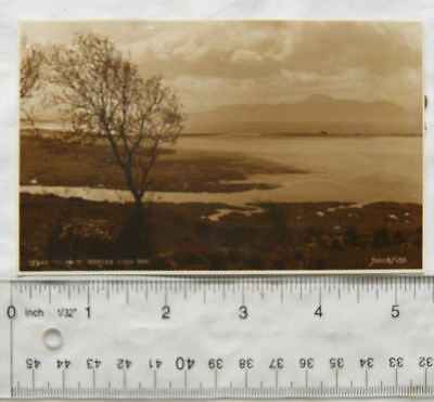 vintage postcard Mulrany across Clew Bay, Co. Mayo