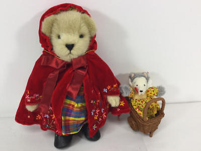Muffy Vanderbear Couture Little Red Riding Hood