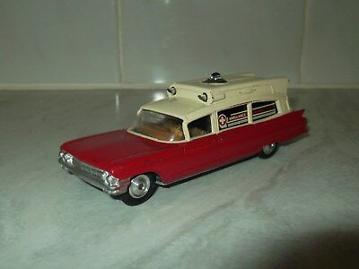 CORGI TOYS No 437 Cadillac Superior Ambulance, Excellent with Working Lights