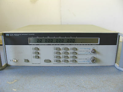HP AGILENT KEYSIGHT 5351B MICROWAVE FREQUENCY COUNTER. 26.5GHz