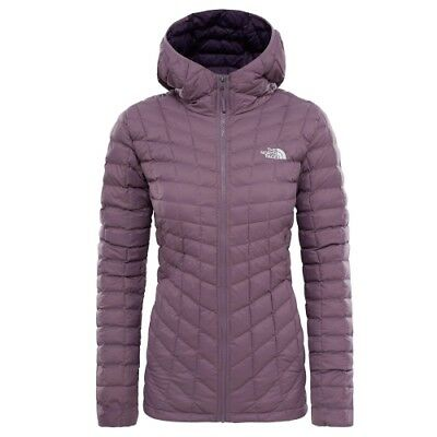The North Face W Thermoball Hoodie black plum Primaloftjacke