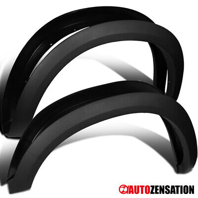 09-18 Dodge Ram 1500 Black Factory OE Style Fender Flares Cover Protector Smooth