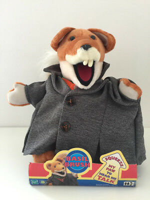 "Basil Brush Talking Soft Toy 13"" Tall New in the Box - Hasbro Toys - FREE UK P&P"