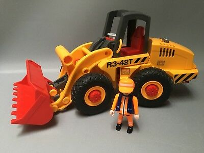 Playmobil Construction Excavator Digger & Figure